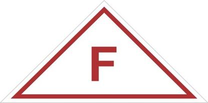 Picture of Roof Truss Sign F