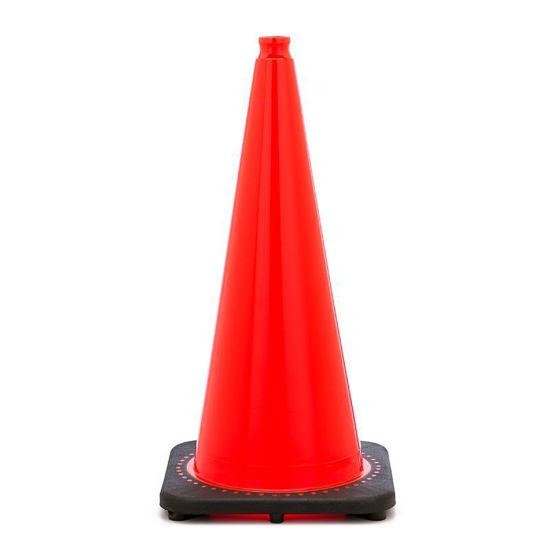 """Picture of 28"""" Cone Orange Non-Reflective"""