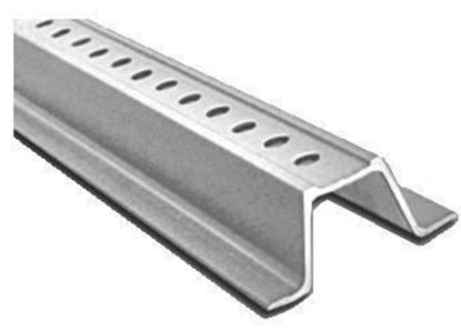 Picture of 8 Ft. Galvanized Channel Post Silver