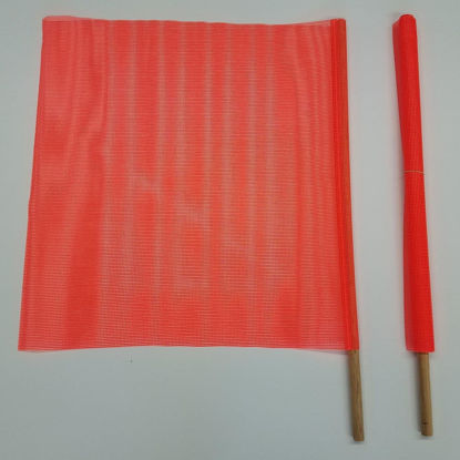 Picture of Safety Flags with Wooden Dowel