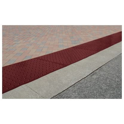 Picture of ADA Warning Mat 2'x3' Safety Red Surface Mount