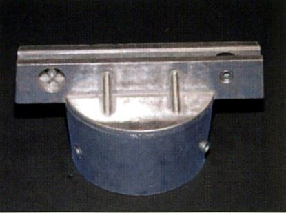 Picture of Round post cap for extruded signs 512RCX300