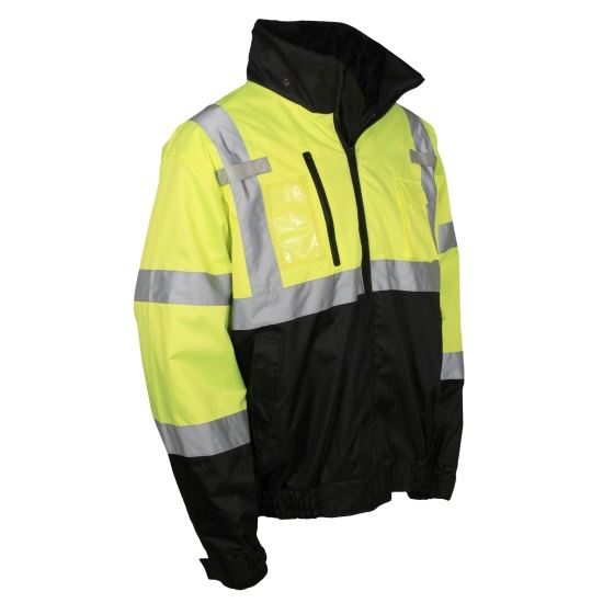 Picture of Radians SJ21B Deluxe Class 3 Three-in-One Bomber Jacket
