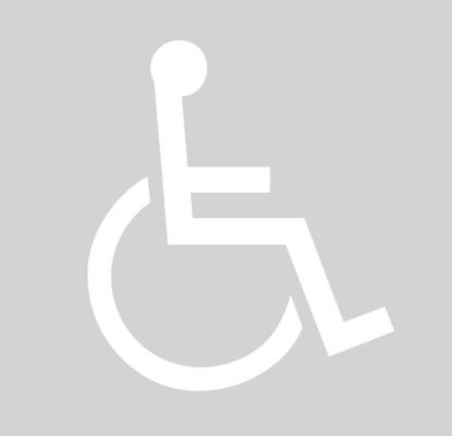 Picture of Stencil Handicapped Parking