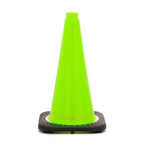 "Picture of 18"" Cone Lime Non-Reflective"