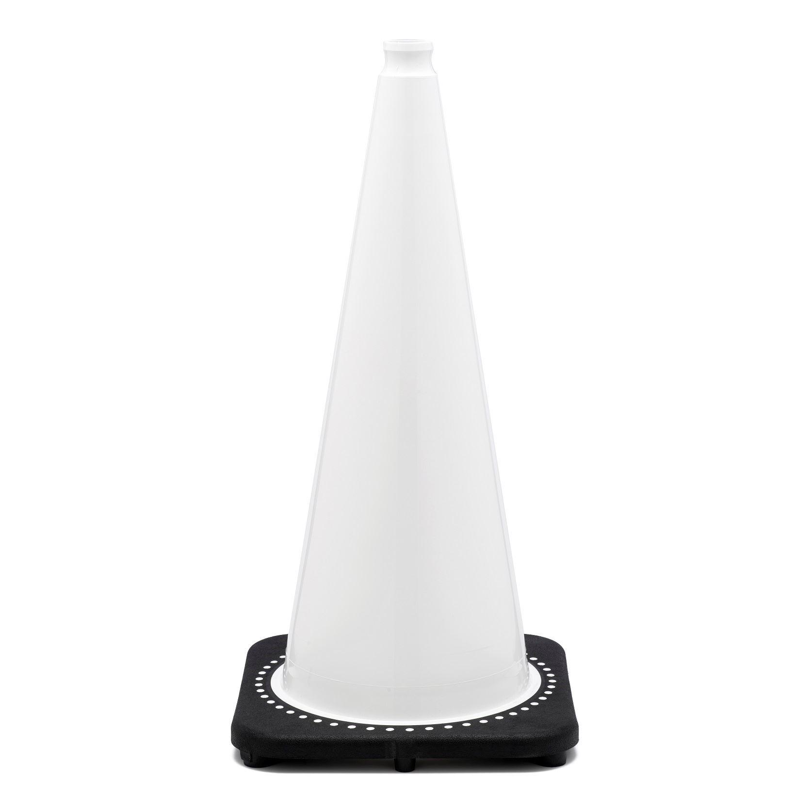 """Picture of 28"""" Cone White Non-Reflective"""