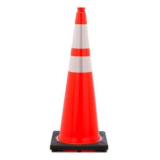 """Picture of 36"""" Cone Orange Reflective"""