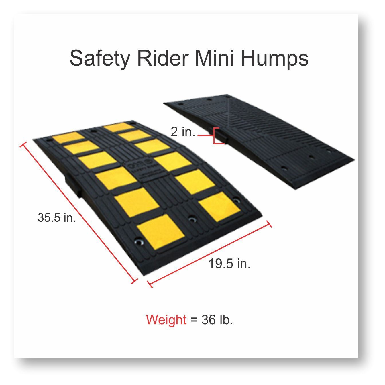 Picture of Rubber Speed Hump