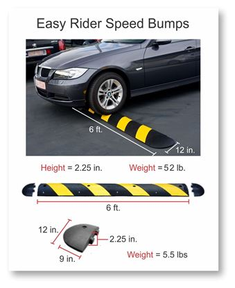 Picture of Rubber Speed Bump