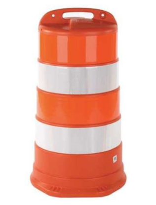 Picture of Traffic Barrel Hi-Intensity Grade