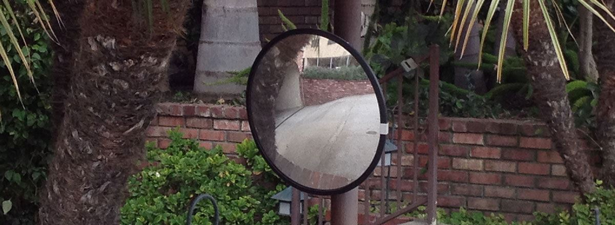 "Picture of Convex Mirror 26"""