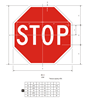 """Picture of 30"""" Stop Sign"""