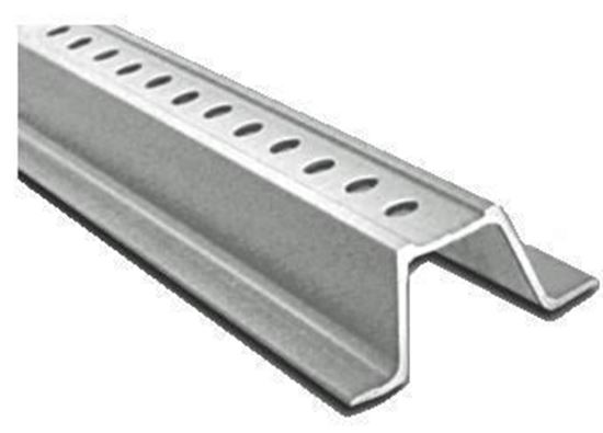 Picture of 3 Ft. Galvanized Channel Post Silver