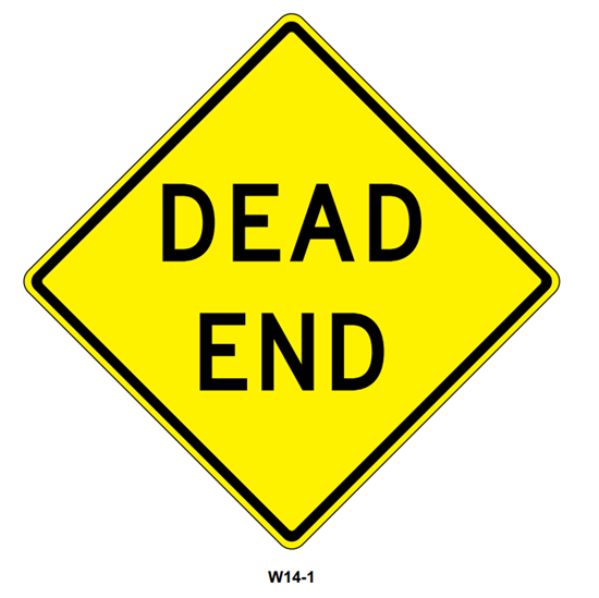"""Picture of 30""""x30"""" Dead End"""