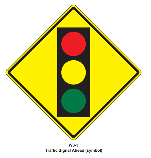 """Picture of 36""""x36"""" Traffic Light Signal"""