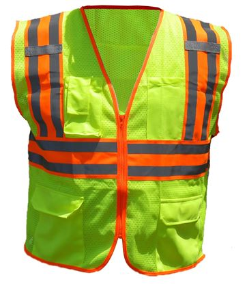 Picture of Deluxe  Two Tone Class 2 Safety Vest