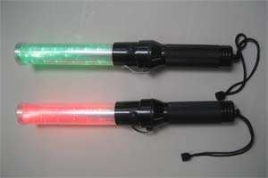 """Picture of Electronic Safety Baton 7"""" - Red/Green version"""