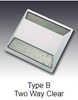 """Picture of 2-Way Reflective Pavement Markers 4""""x4"""""""