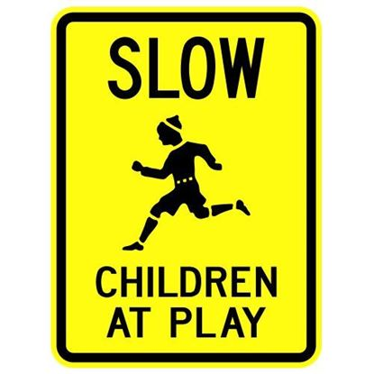 """Picture of 18""""x24"""" Slow Children at Play"""