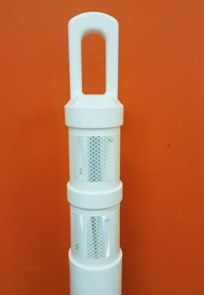 Picture of White A-Top Delineator Post -Top Only