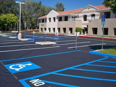 What You Need for an ADA Compliant Parking Lot